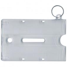 Badge Holder Keyring